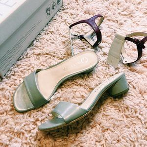 Alterre Mist Grey Sandal w/ Interchangeable Strap